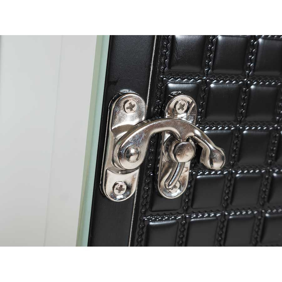 Picture of Black Mirror Border Jewelry Storage Mirror