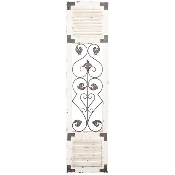 Picture of Wood and Metal Wall Decor