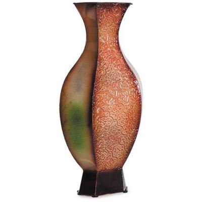 Picture of Green and Rust Vase