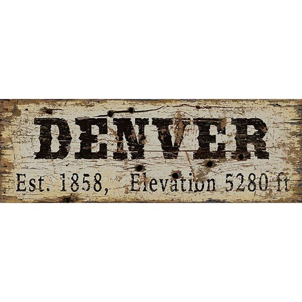 Picture of DENVER VINTAGE SIGN