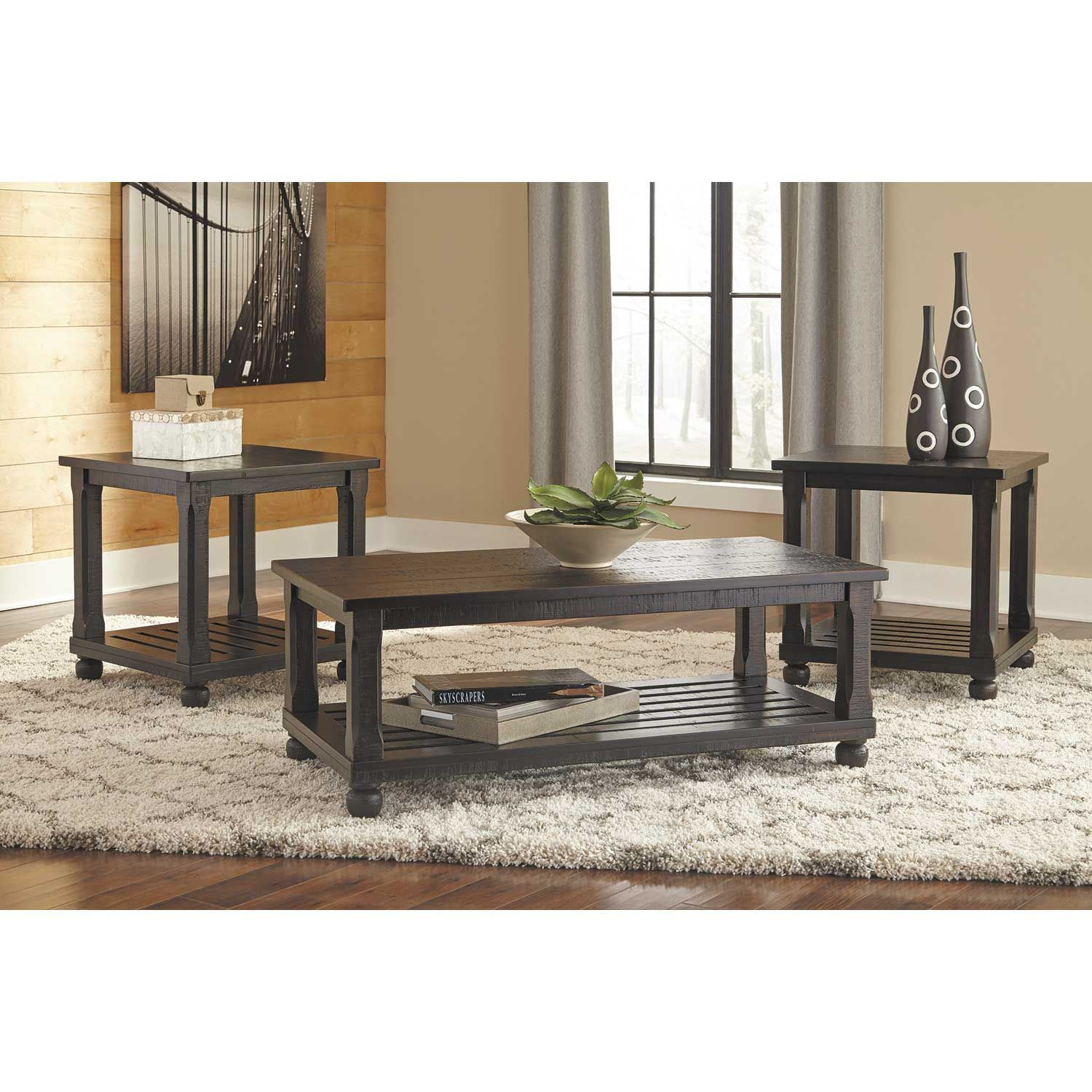 Picture of Mallacar 3-Pack Tables Set