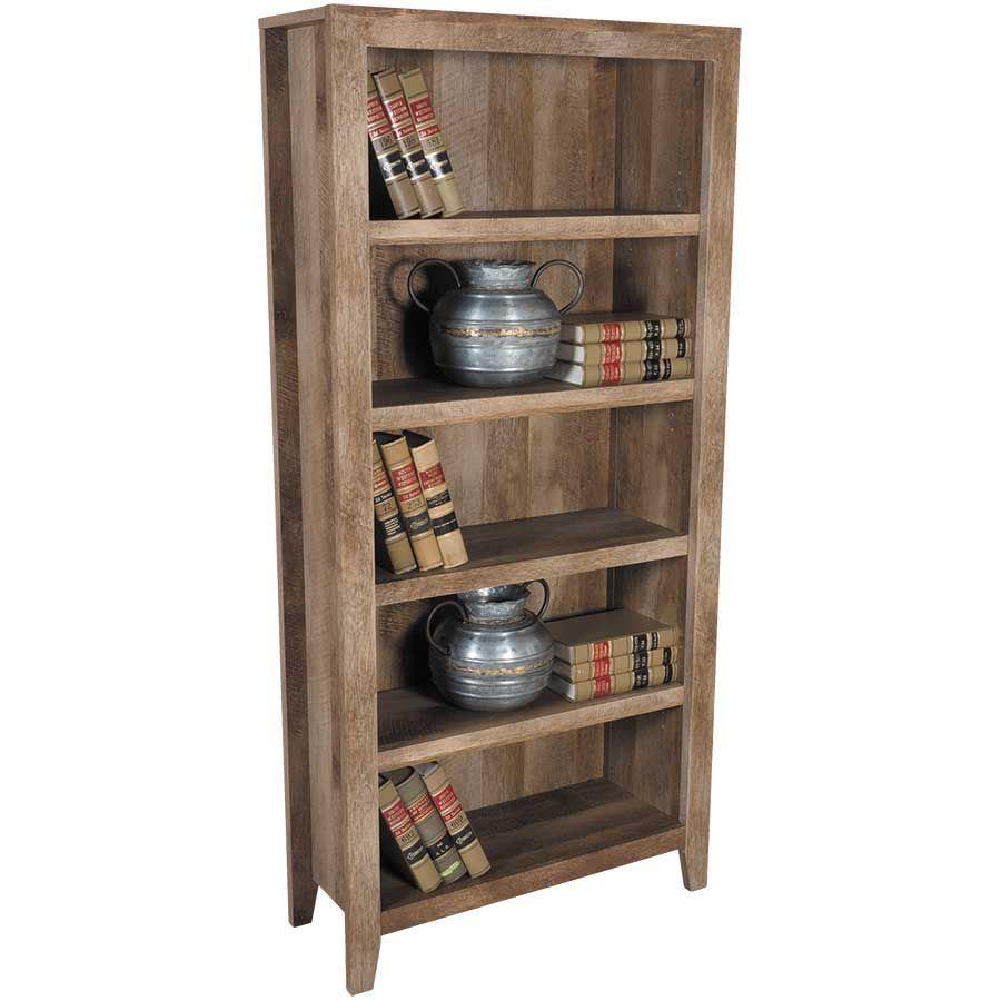 Picture of Dakota Pass Five Shelf Bookcase