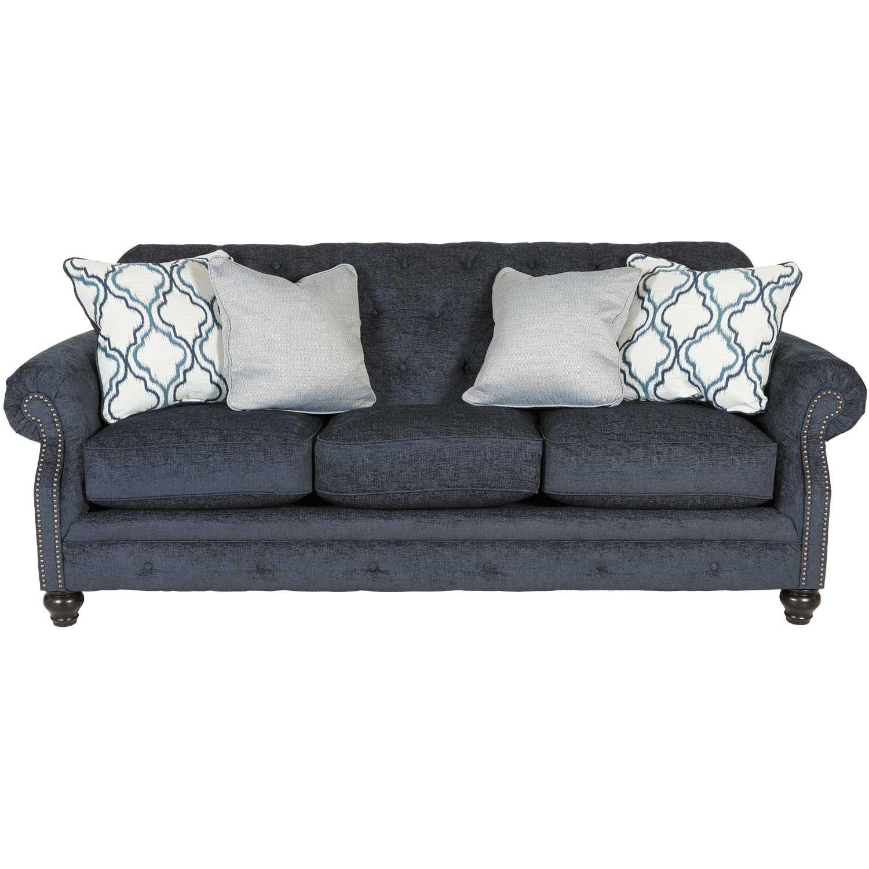 Lavernia Slate Tufted Sofa Nn 713s Ashley Furniture Afw Com