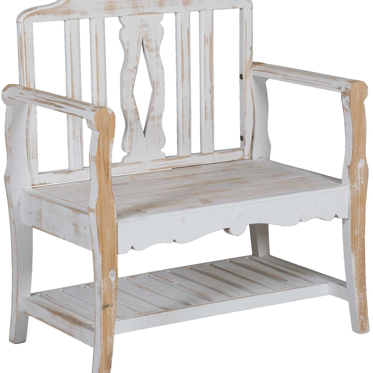 Marvelous Small White Farmhouse Bench Ncnpc Chair Design For Home Ncnpcorg