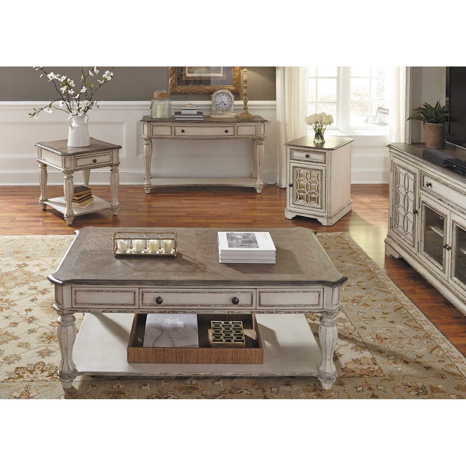 Picture of Magnolia Manor Rectangular Cocktail Table