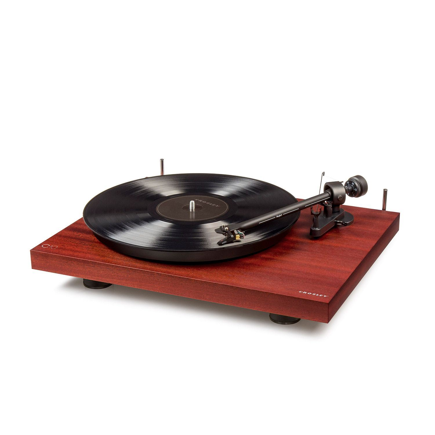 Picture of C10 Two Speed Manual Turntable Deck, Cherry *D