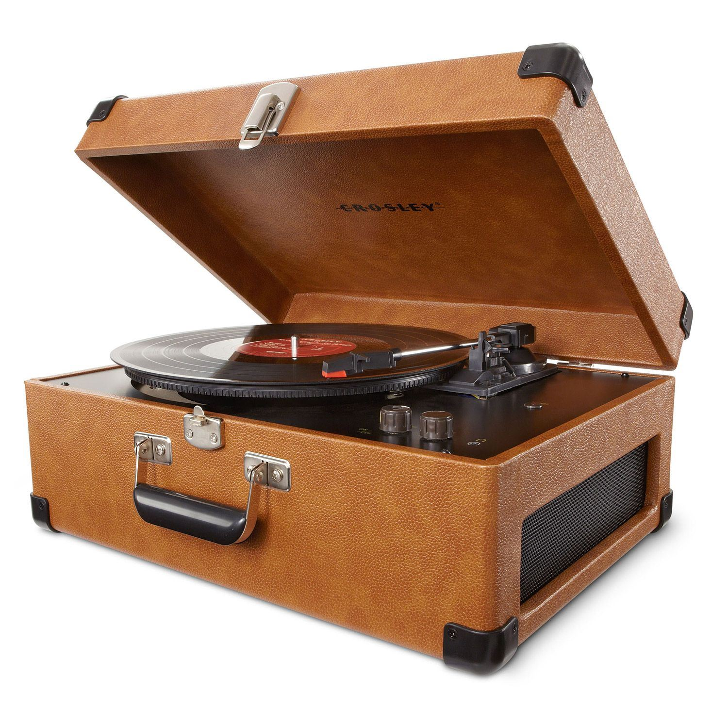 Picture of Keepsake Portable USB Turntable, Tan *D