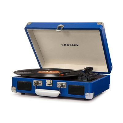 Picture of Cruiser Deluxe Portable 3-Speed Turntable, Blue *D