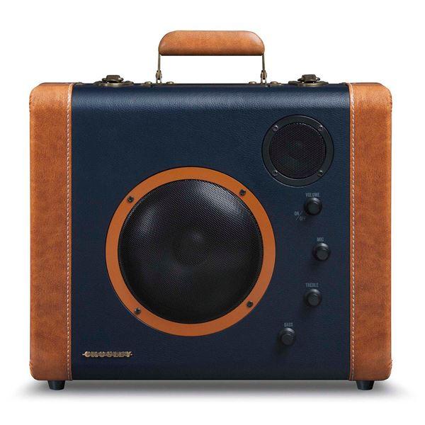 Picture of Soundbomb Portable Bluetooth Speaker, Blue/Orange