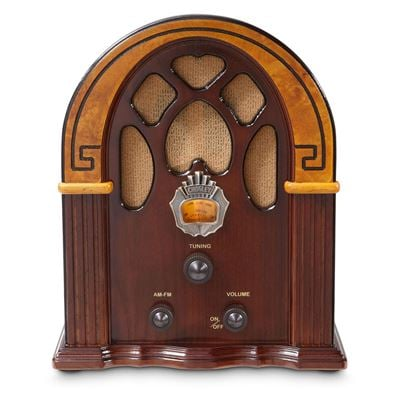Picture of Companion AM/FM Radio with Speaker, Brown *D
