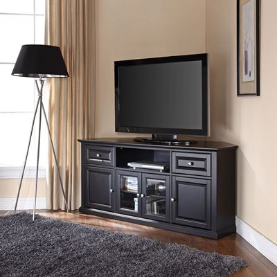 Picture of 60in Corner TV Stand, Black *D