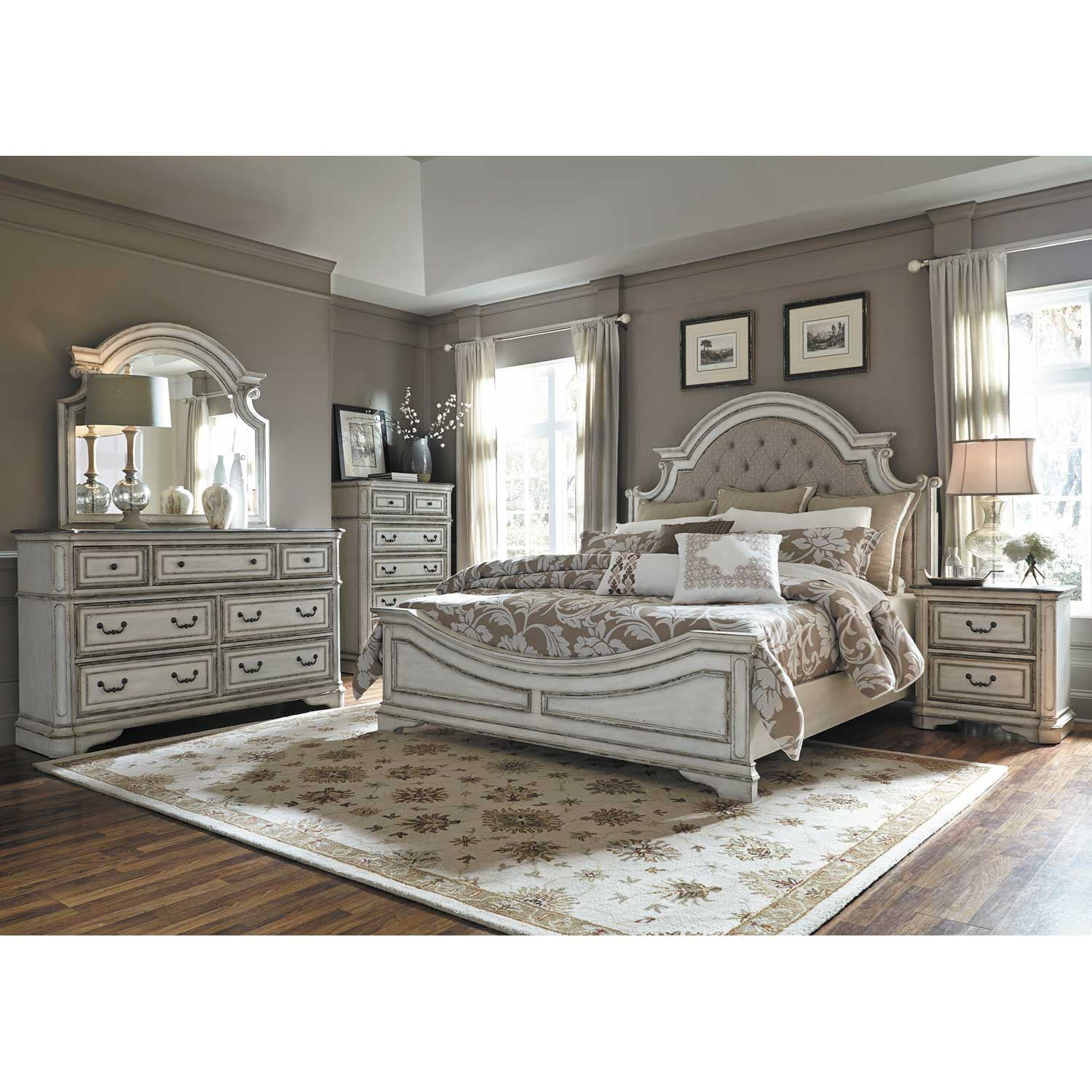 Picture of Magnolia Manor Queen Bed
