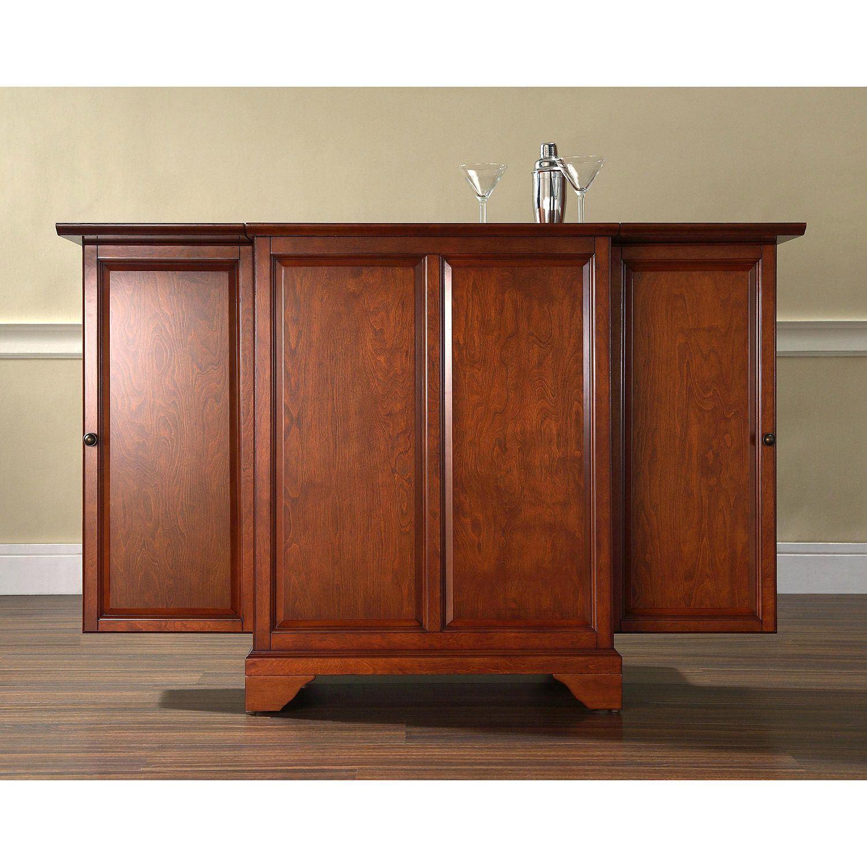 Lafayette Expandable Bar Cabinet Cherry D Kf40001bch
