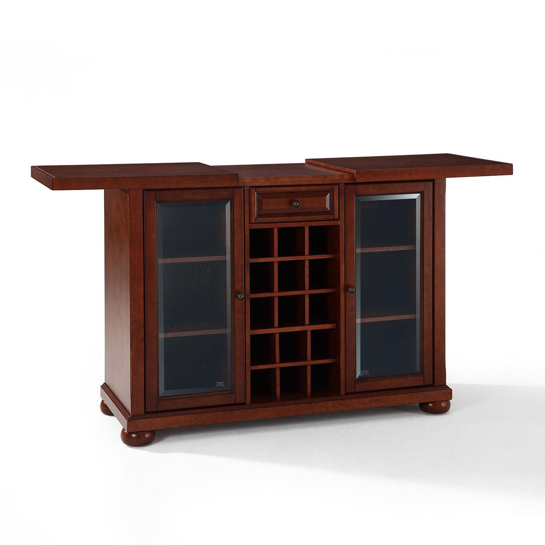Picture of Alexandria Sliding Bar Cabinet, Mahogany *D