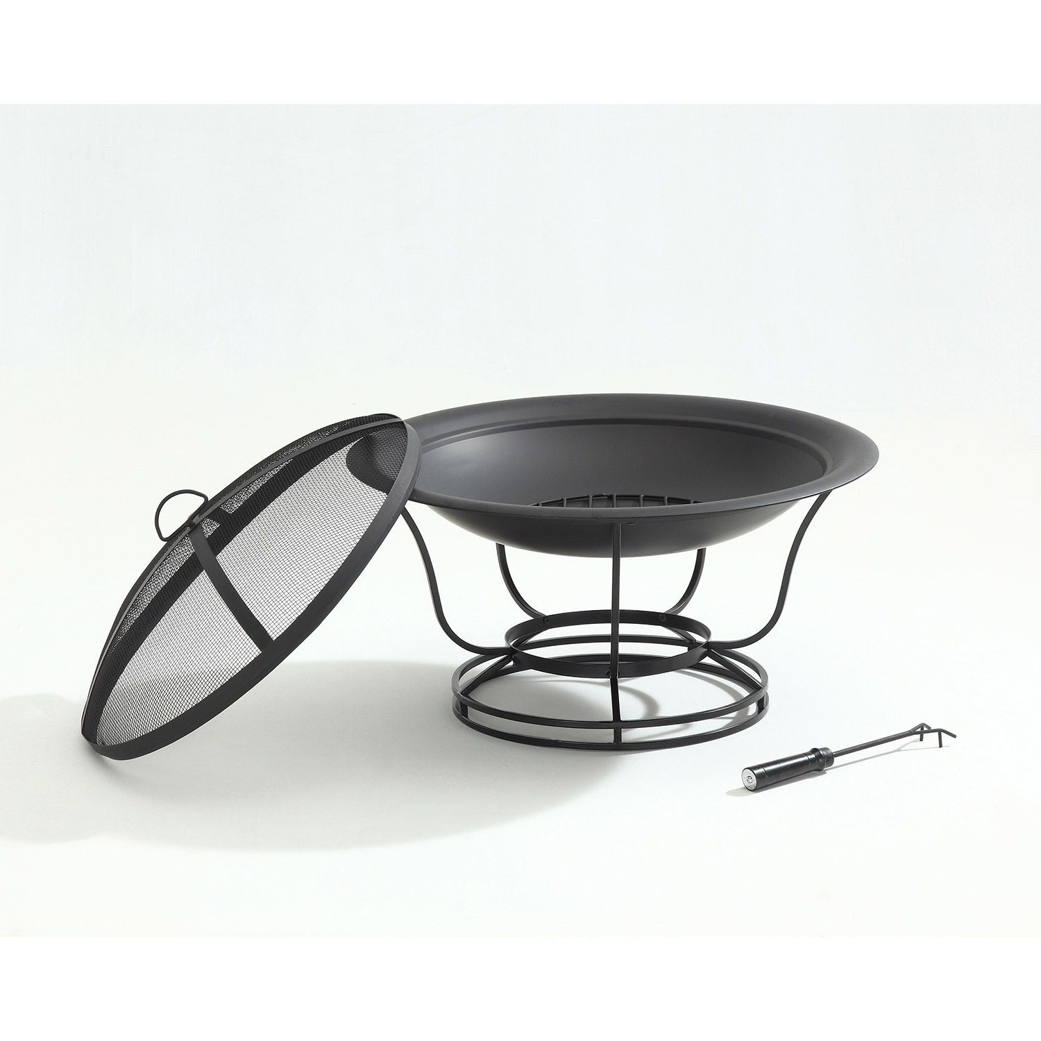 Picture of Buckner Fire Pit in Black *D