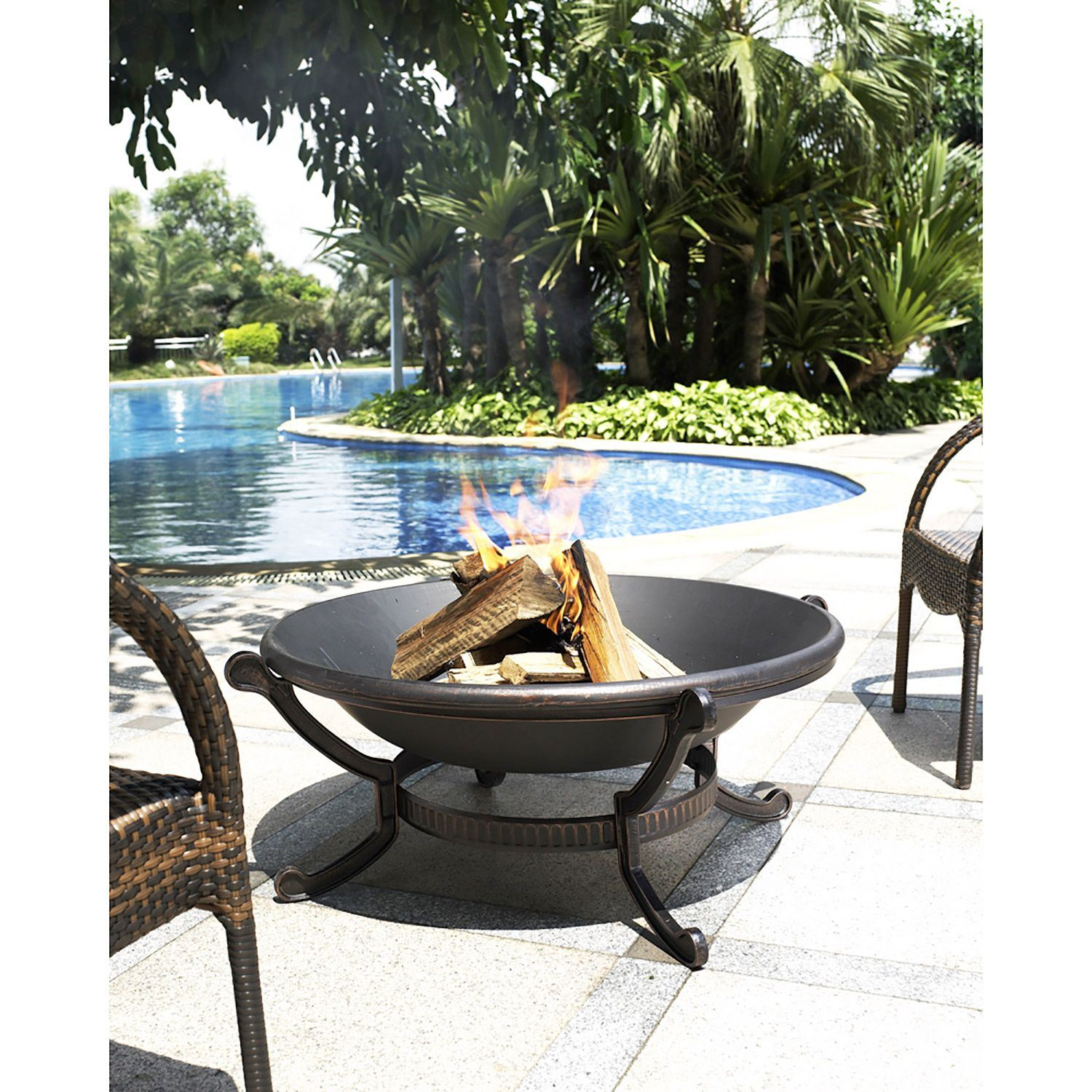 Picture of Ashland Fire Pit in Black *D
