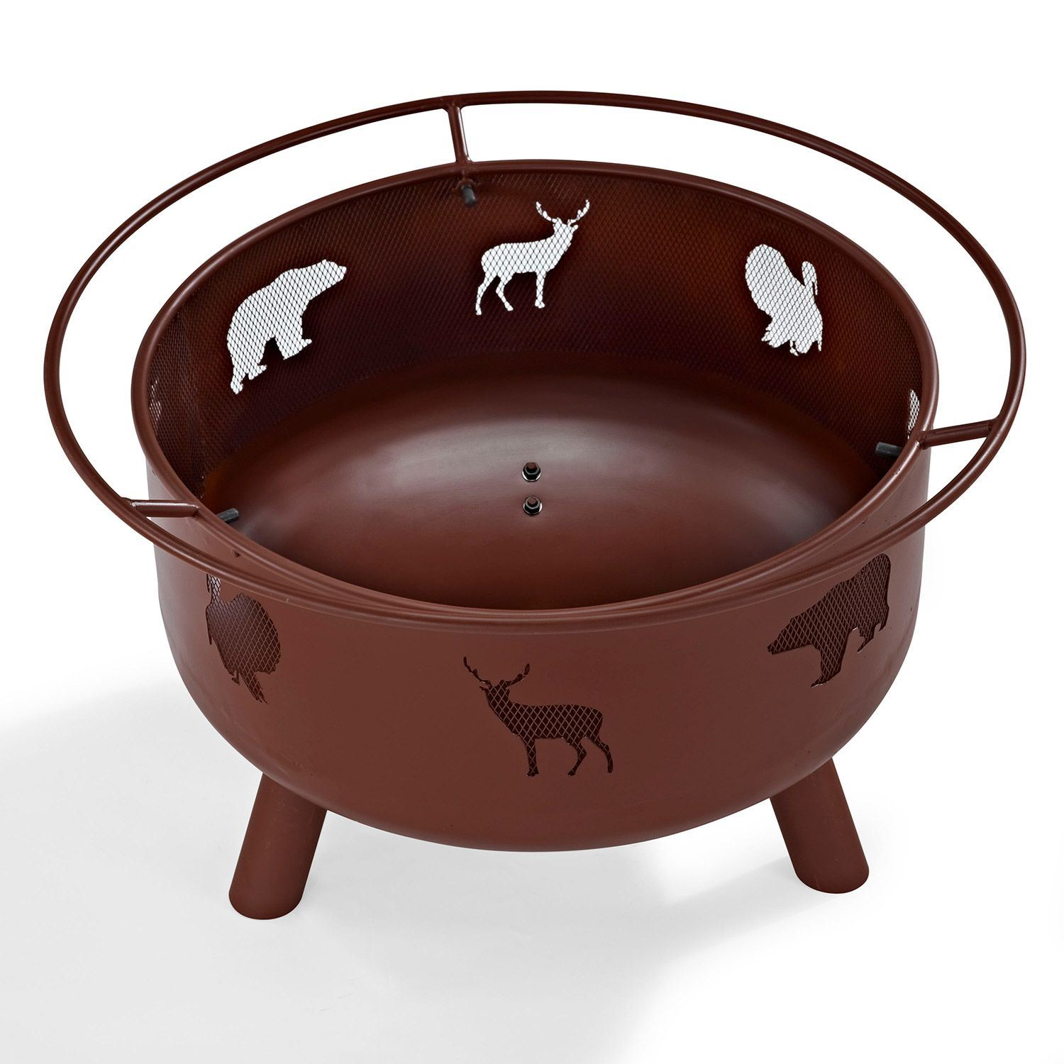 Picture of Durango Wildlife Firepit In Clay *D