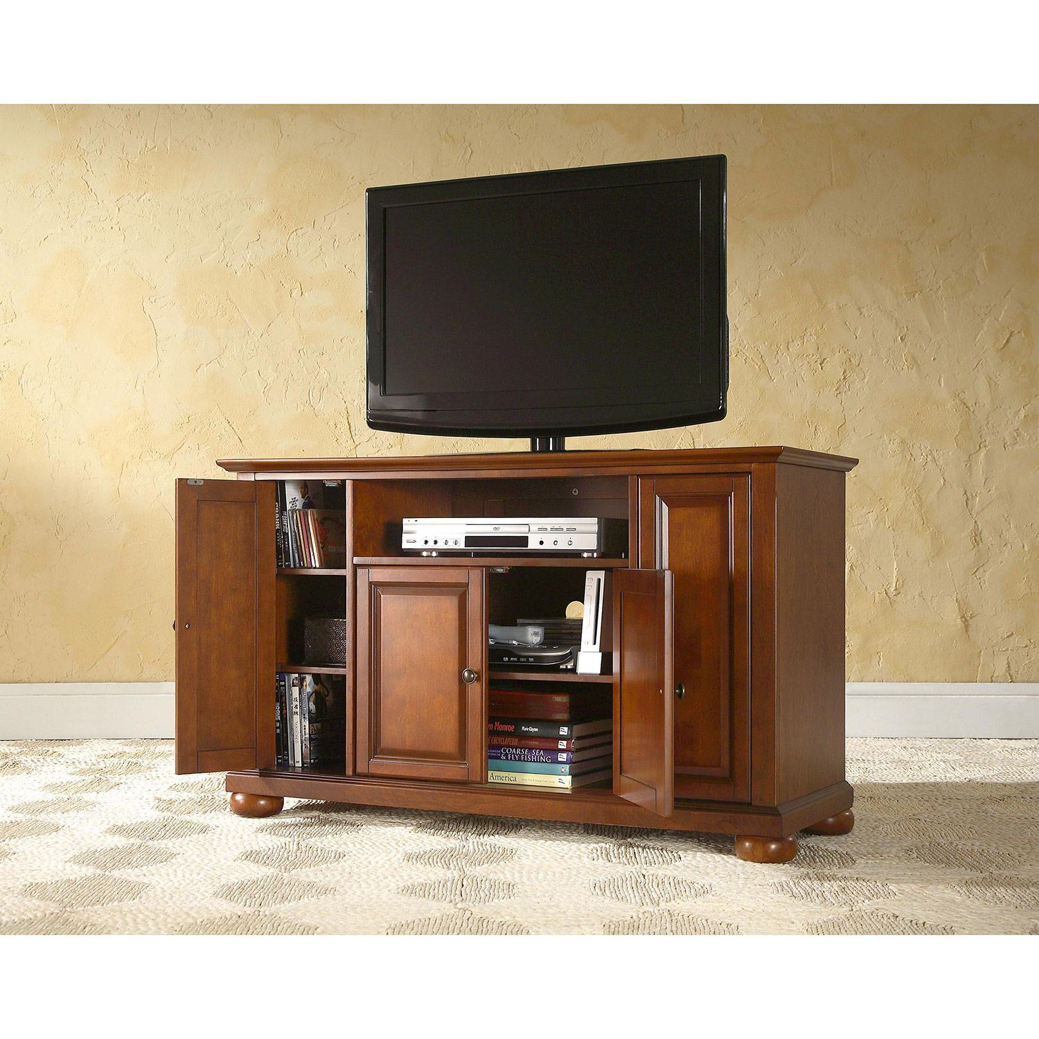 Picture of Alexandria 48in TV Stand, Cherry *D