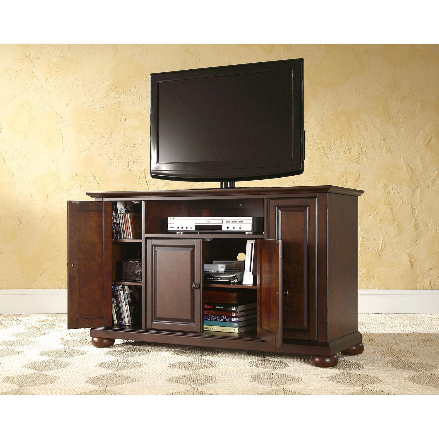 Picture of Alexandria 48in TV Stand, Mahogany *D