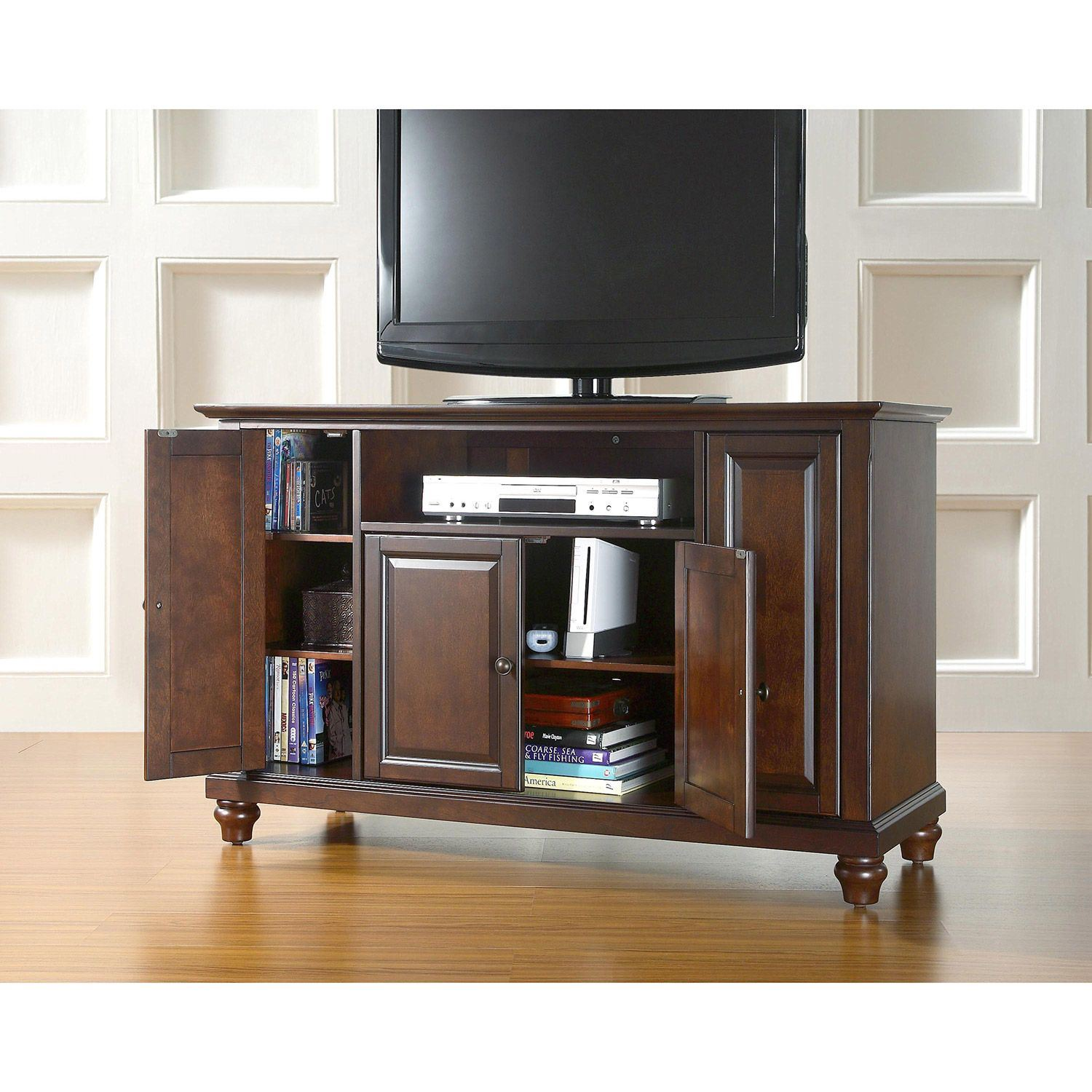 Picture of Cambridge 48in TV Stand, Mahogany *D