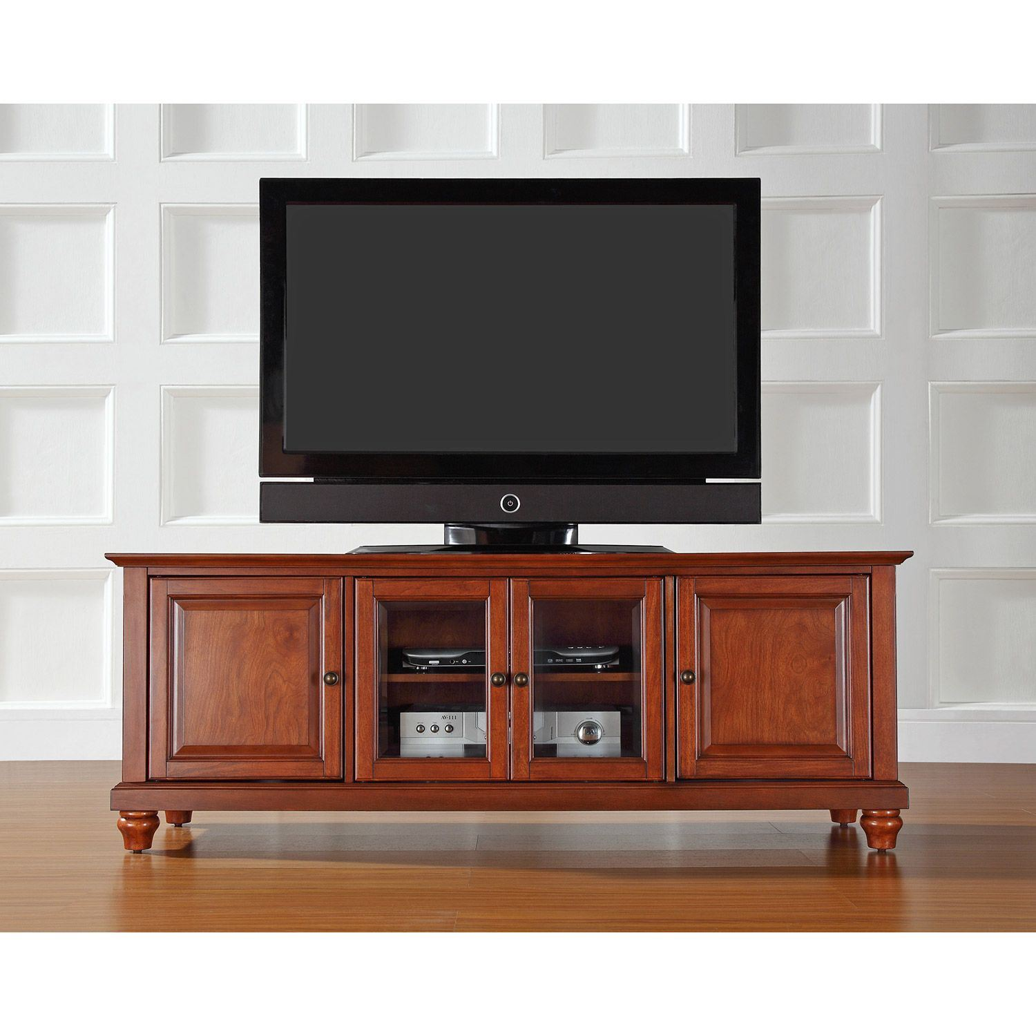 Picture of Cambridge 60in TV Stand, Cherry *D
