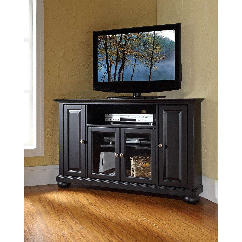 Picture of Alexandria 48in Corner TV Stand, Black *D