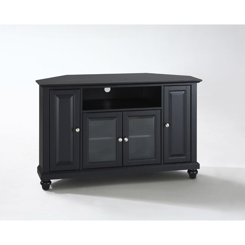 Picture of Cambridge 48in Corner TV Stand, Black *D
