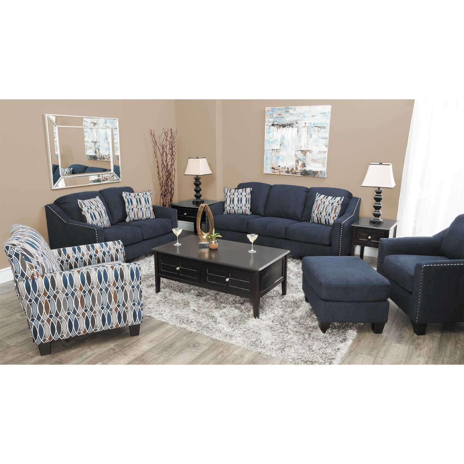 Picture of Creeal Heights Ink Queen Sleeper Sofa