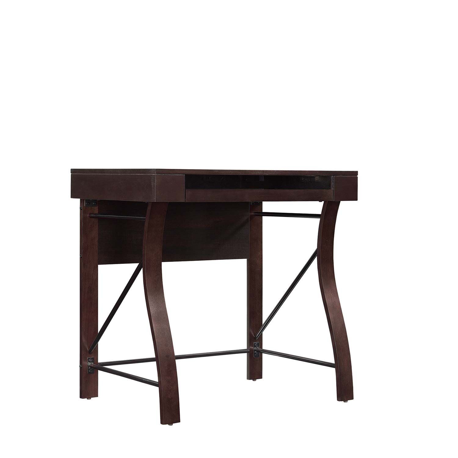Picture of Desk with Keyboard Tray, Dark Espresso *D