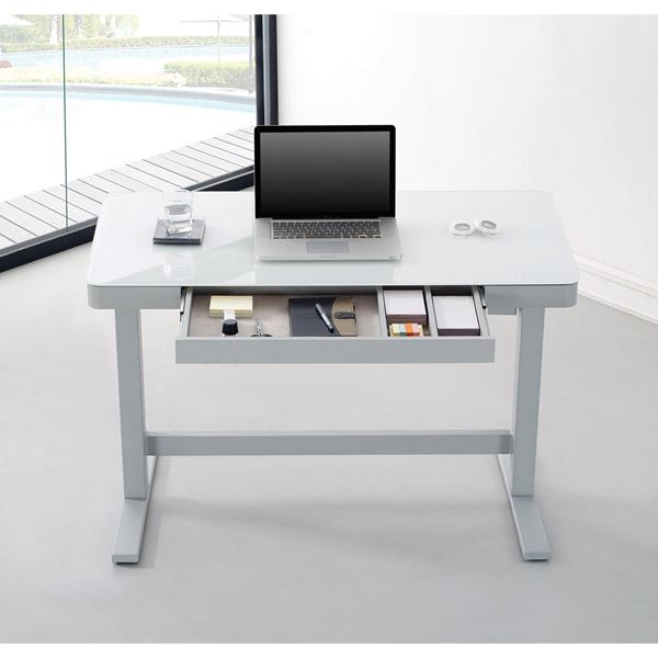 Adjustable Height Desk White D Odp10444 48d908