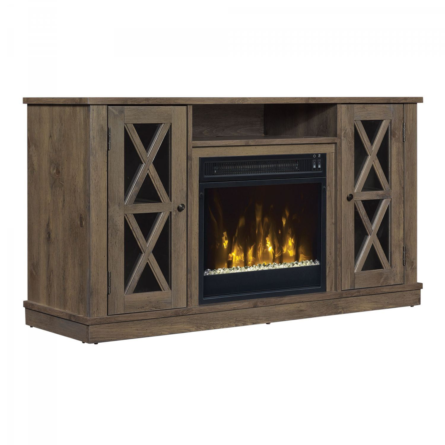 Bayport Tv Stand With Fireplace D 18mm6092 Pi14s Classic Flame