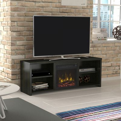 Picture of Shelter Cove 60IN TV Stand with Fireplace *D