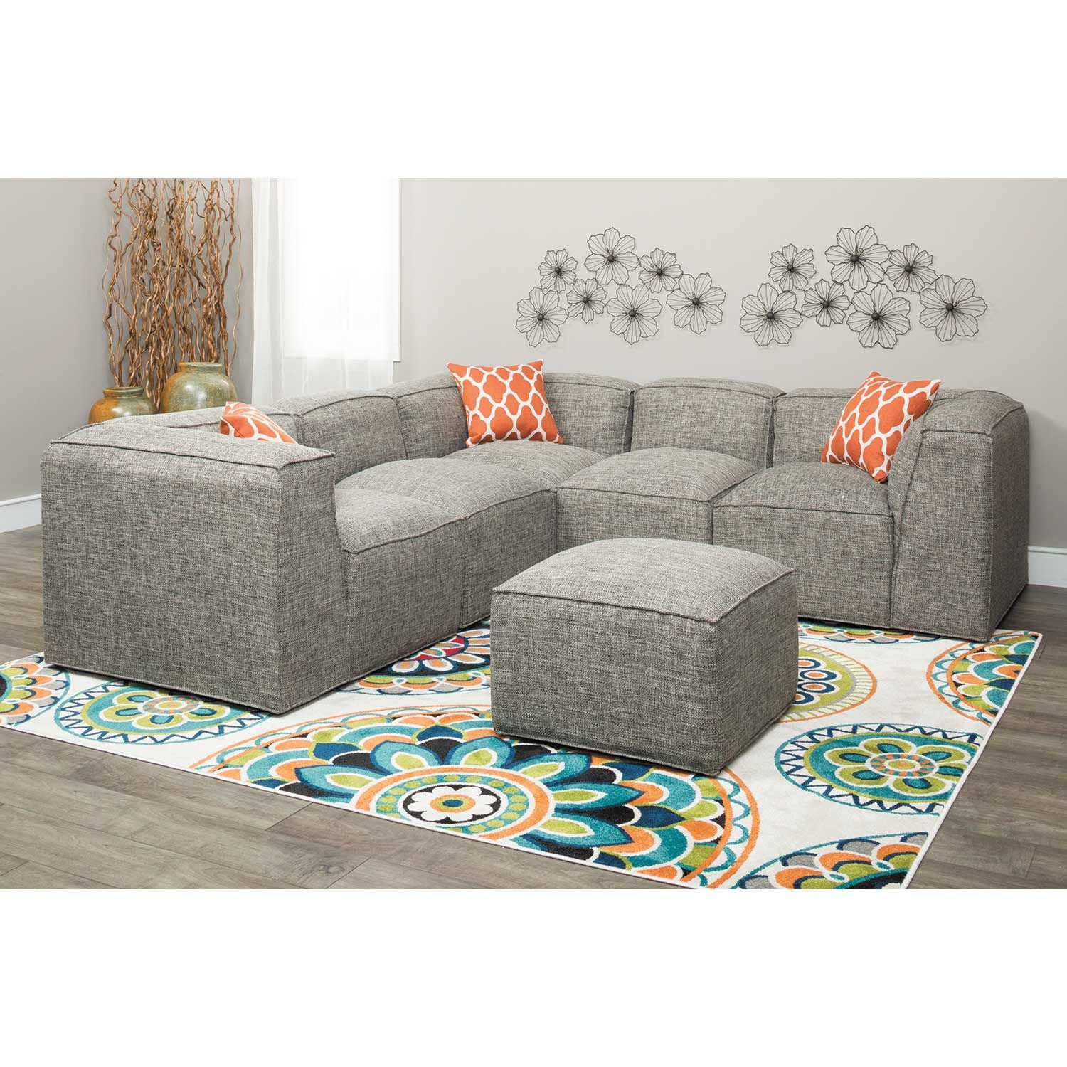 Picture of Freestyle 5 Piece Modular Sectional
