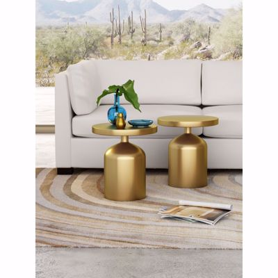 Picture of Kendal Accent Table Brass *D