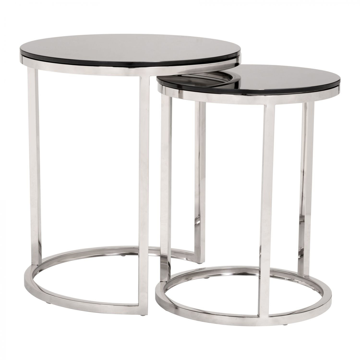 Picture of Rem Coffee Table Sets Black & Stainless *D