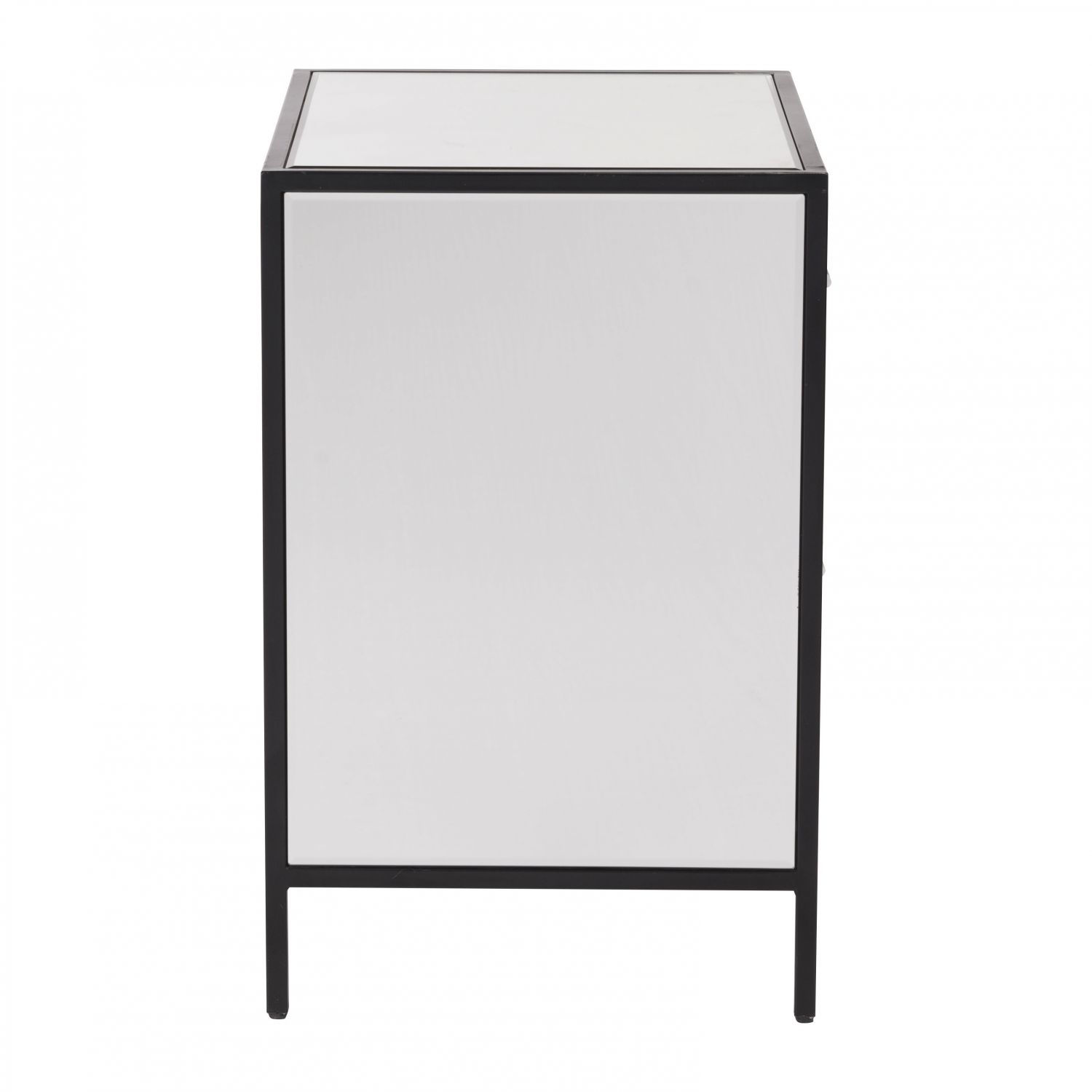 Picture of Upton End Table Mirror & Metal *D