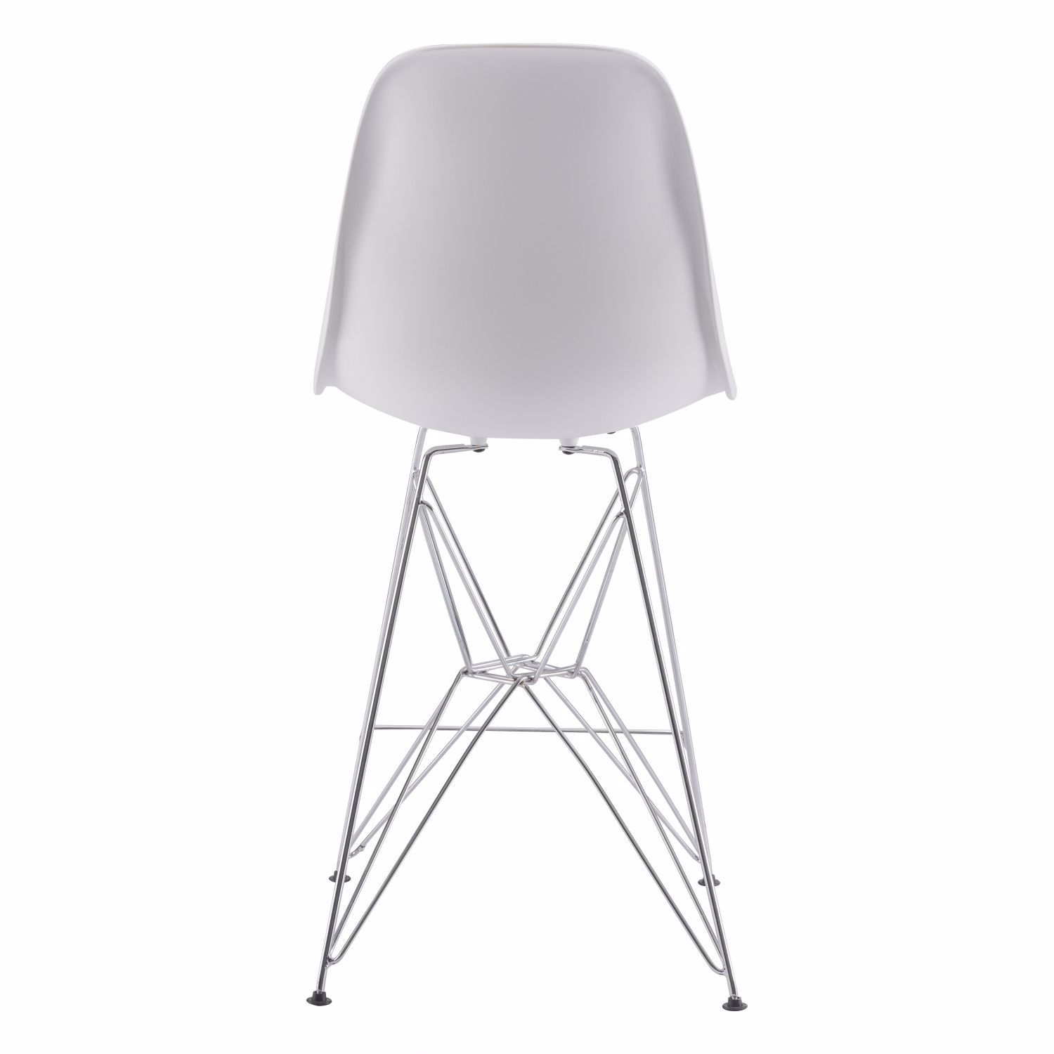 Picture of Zip Counter Chair White *D