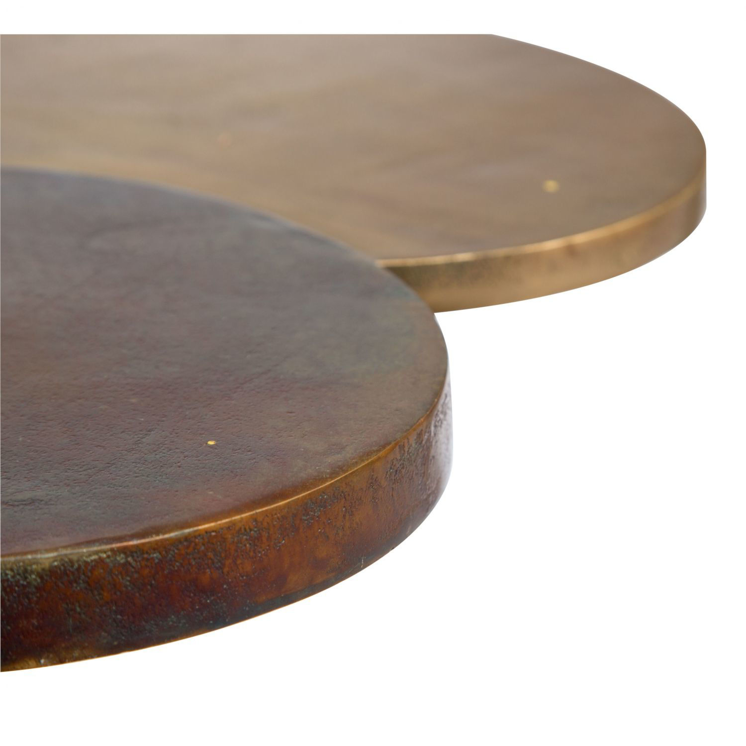 Picture of Dundee Accent Table Antique Brass *D
