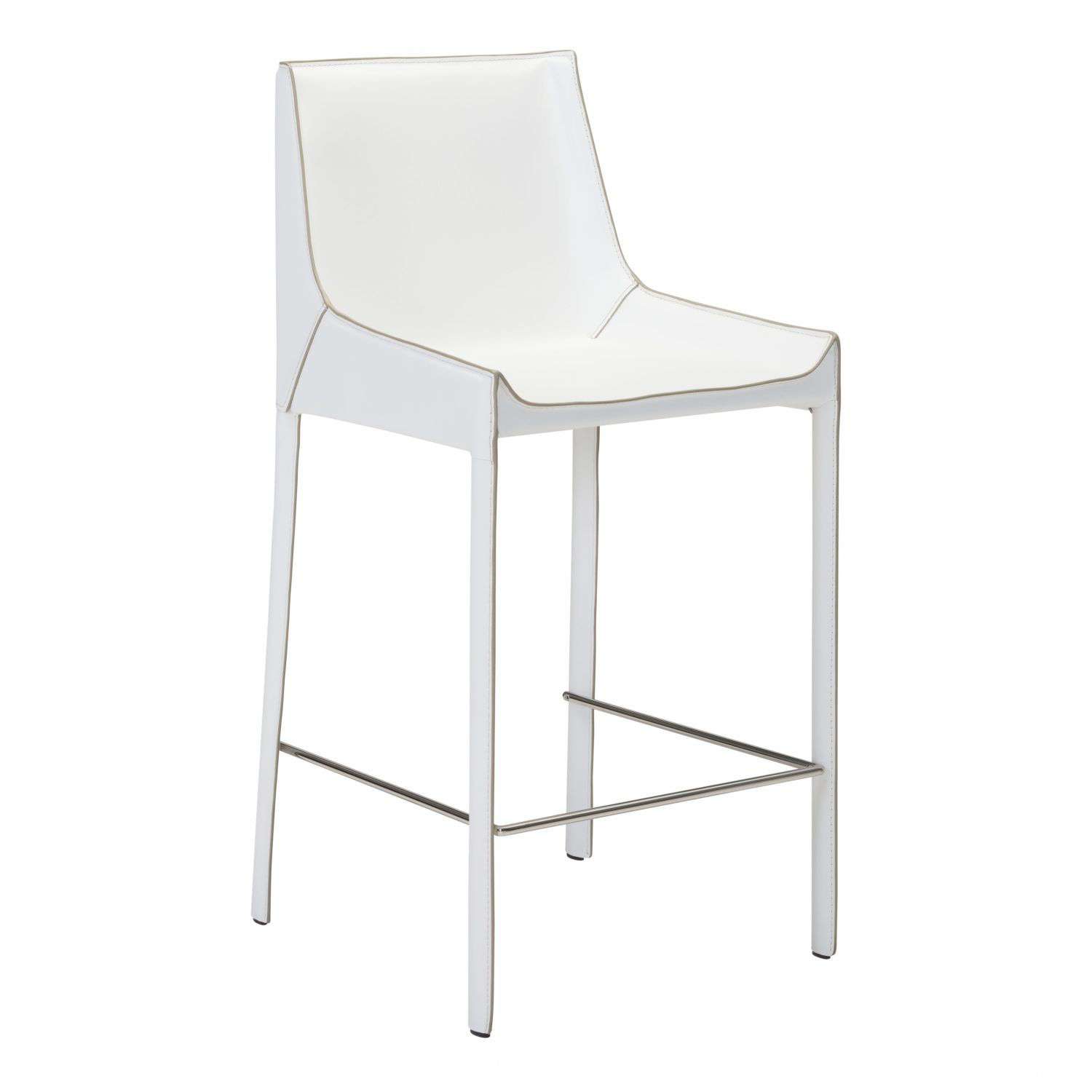 Picture of Fashion Bar Chair White , SET OF 2 *D