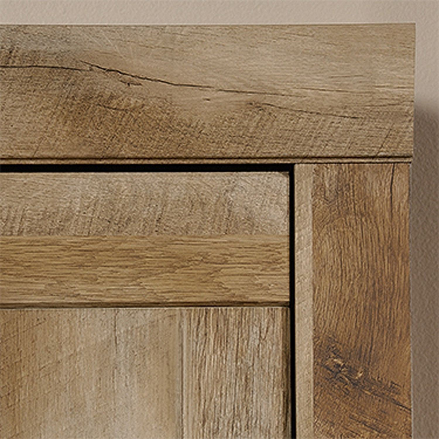 Picture of Adept Oak Narrow Storage Cabinet
