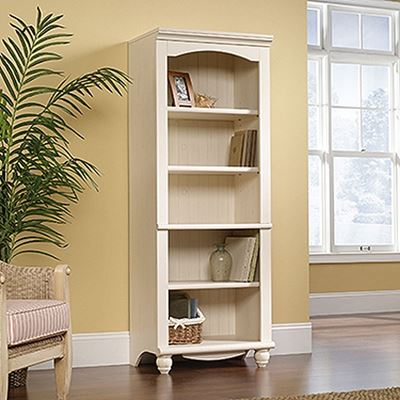 Picture of Harbor View Library Antiqued White * D