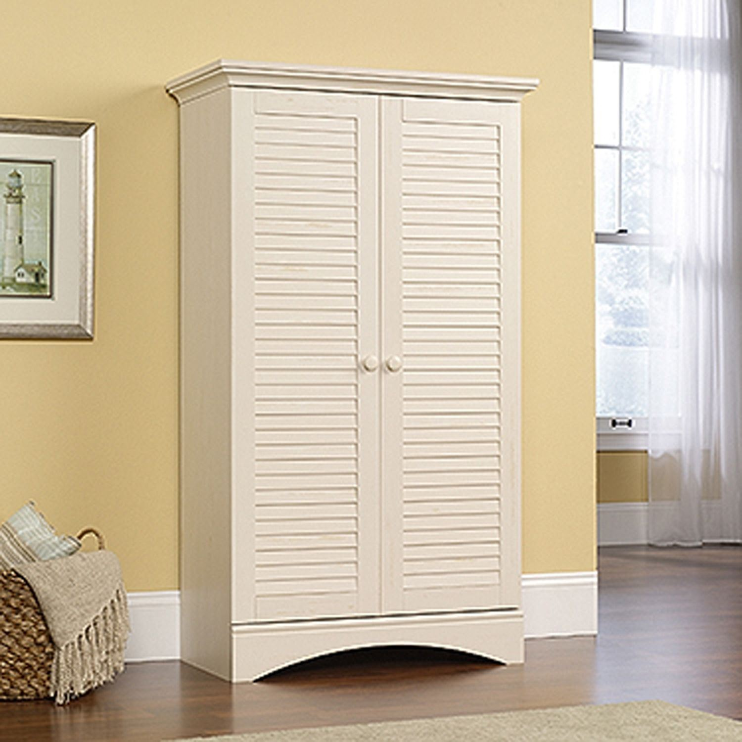 Picture of Harbor View Storage Cabinet Antiqued White * D