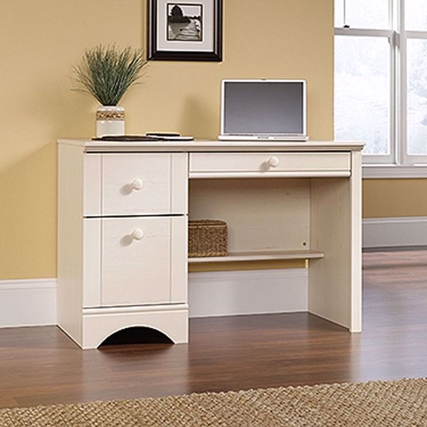 Picture of Harbor View Computer Desk Antiqued White * D