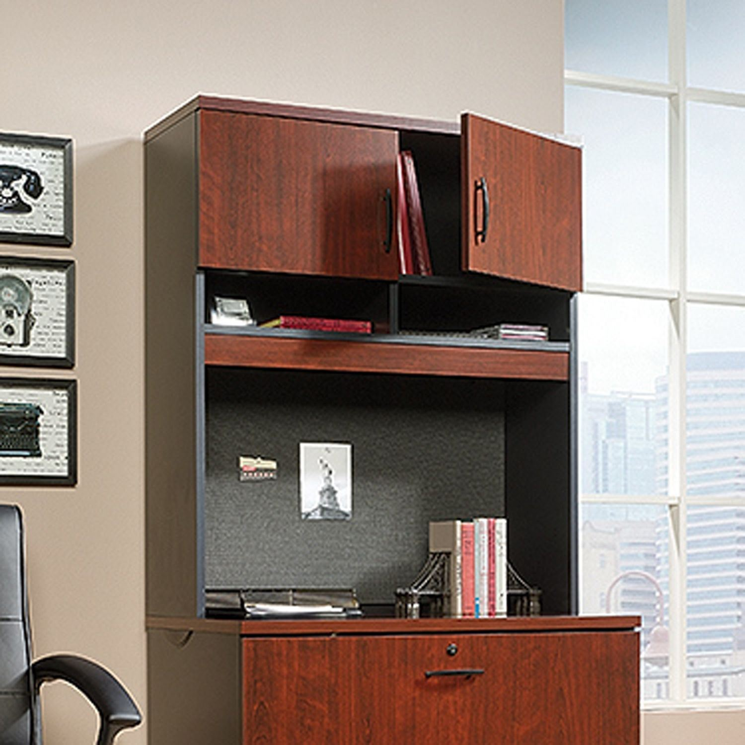 Picture of Via Lateral File Hutch Classic Cherry * D