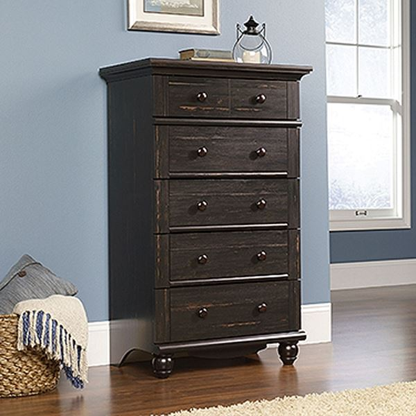 Picture of Harbor View 5-Drawer Chest Antiqued Paint * D