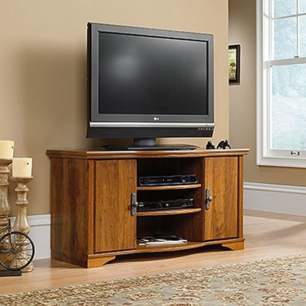 Picture of Harvest Mill Entertainment Credenza Abbey Oak * D