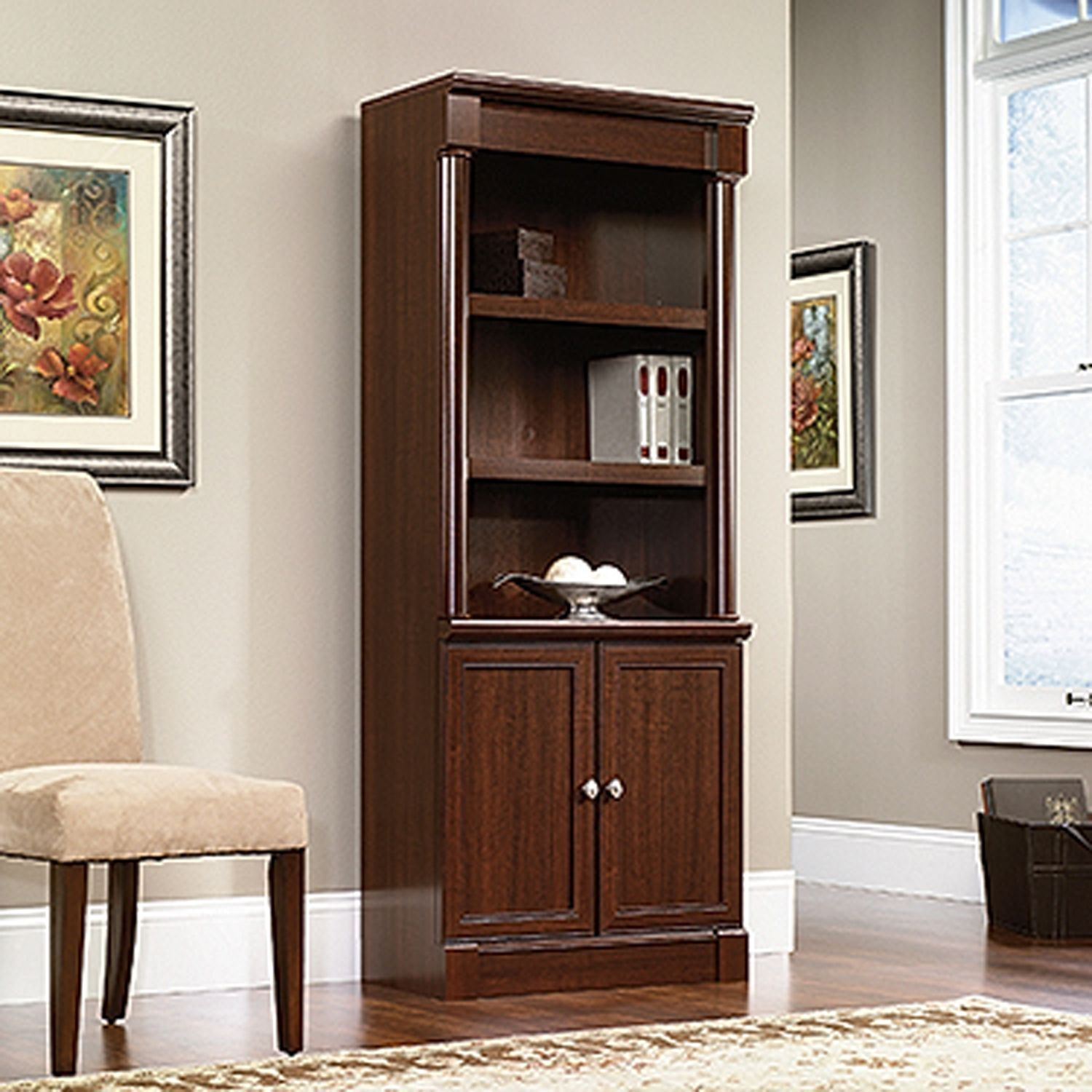 Picture of Palladia Library W/doors Select Cherry * D