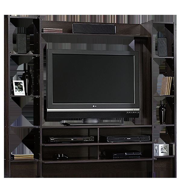 Picture of Beginnings Entertainment Wall System Cinnamon Cher