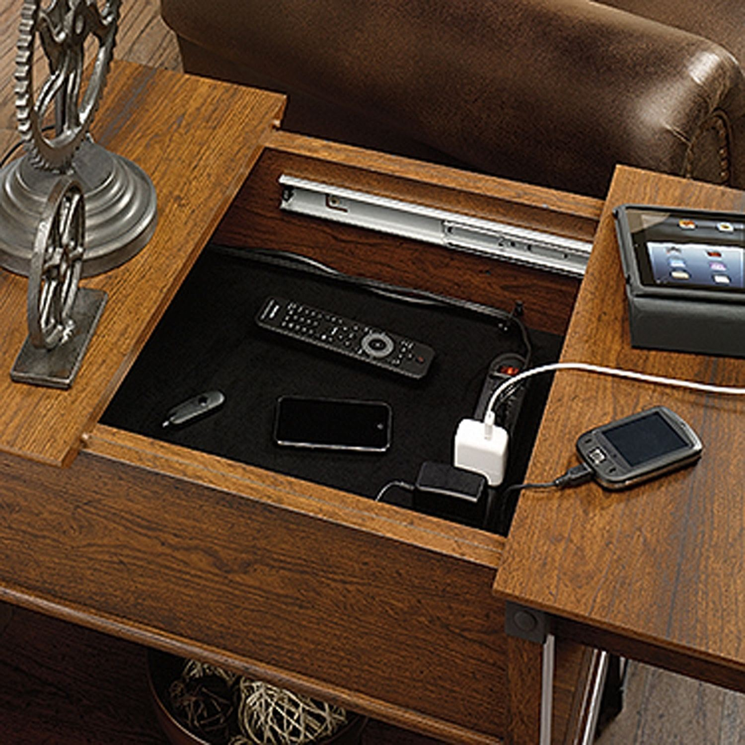 Picture of Carson Forge Smartcenter Side Table Washington Che