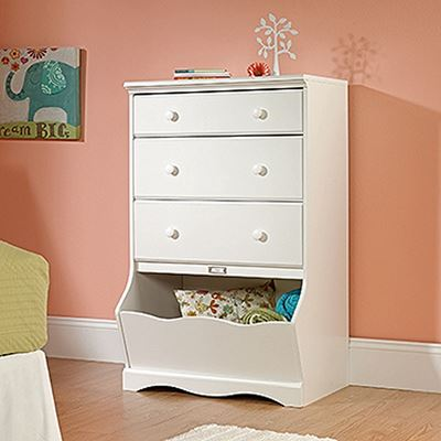 Picture of Pogo 3-Drawer Chest Soft White * D